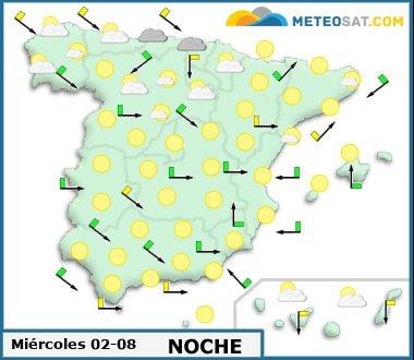 Información facilitada por www.meteosat.com