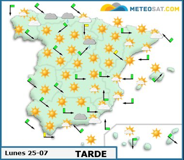 Weather Forecast for Spain