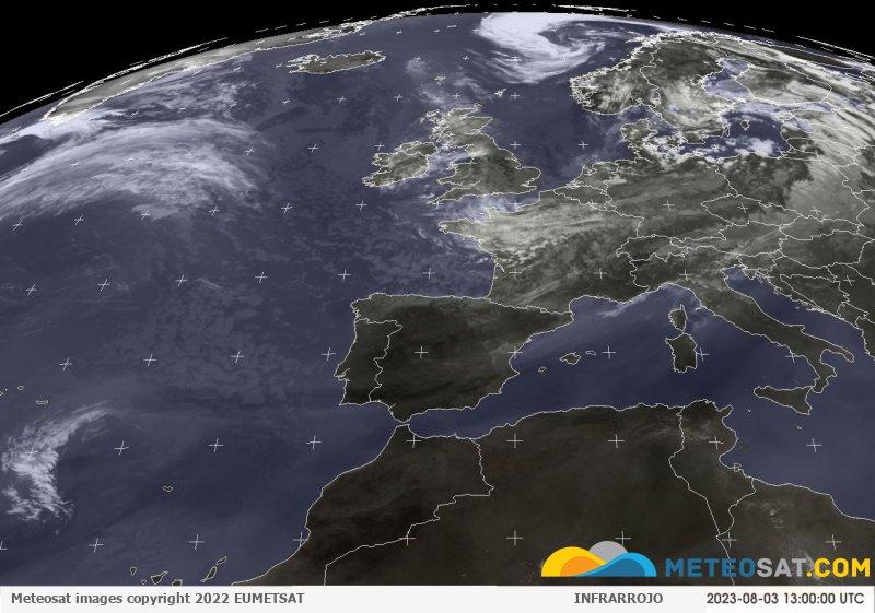Immagine animata Meteosat