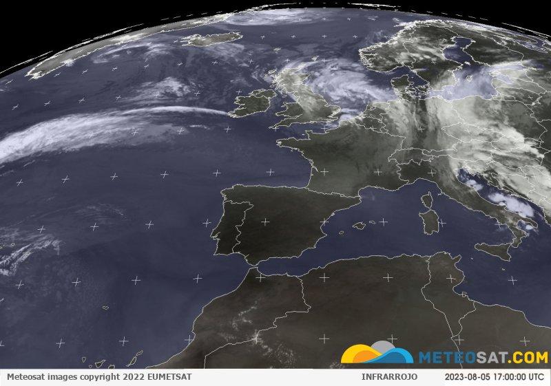 Imagen animada meteosat