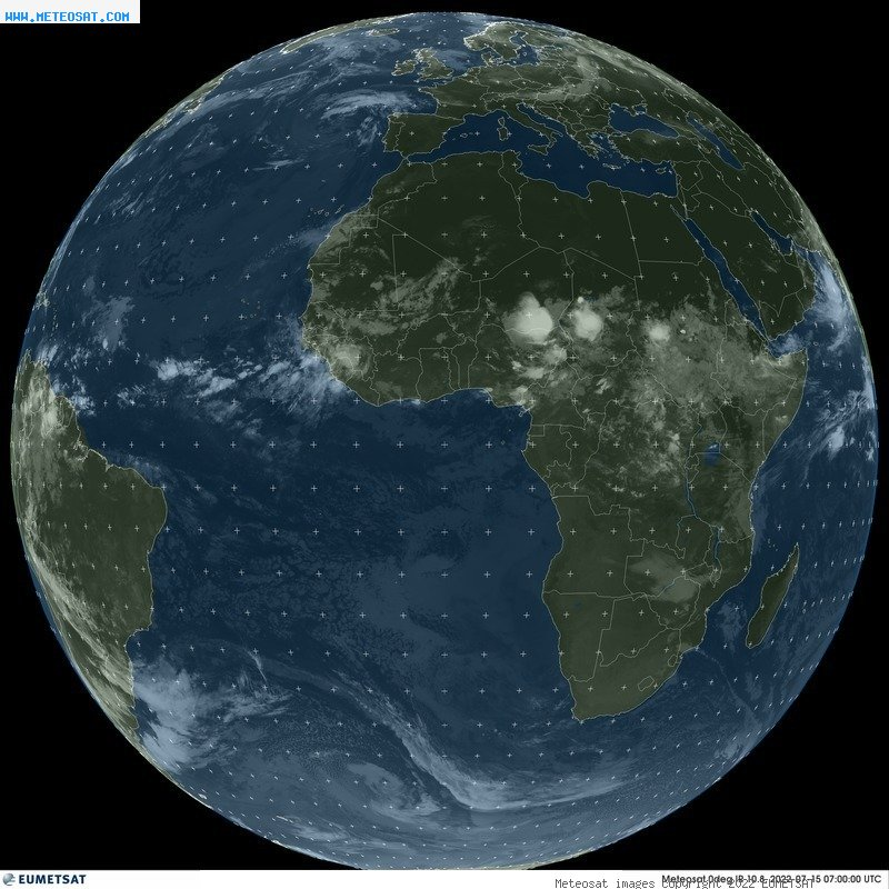 Imagen meteosat global