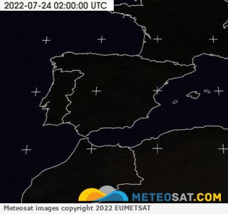 Ultima Meteosat Visible