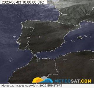 Cobertura nubosa en España